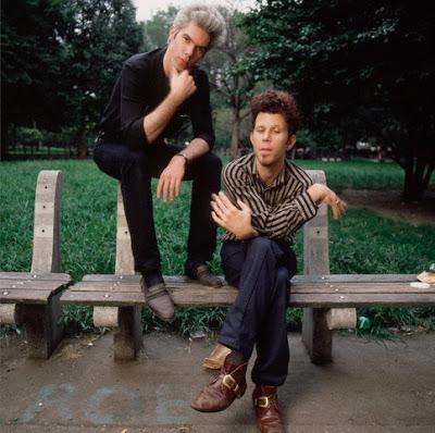 1985 --- Jim Jarmusch and Tom Waits --- Image by © Deborah Feingold/Corbis
